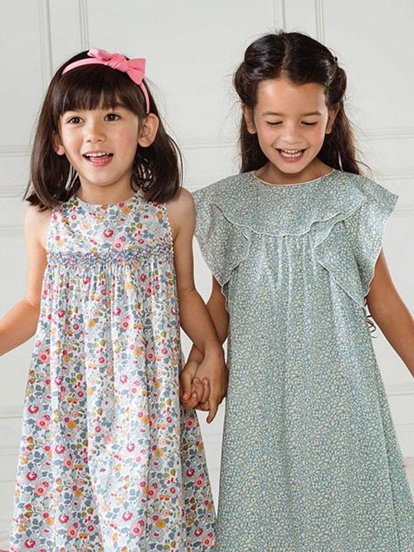 Mila (right) for Pretty Wild Kids